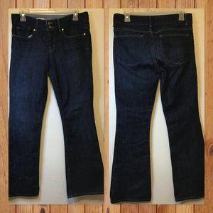 Gap Women Denim Perfect Boot Dark Pants Size 27/4a